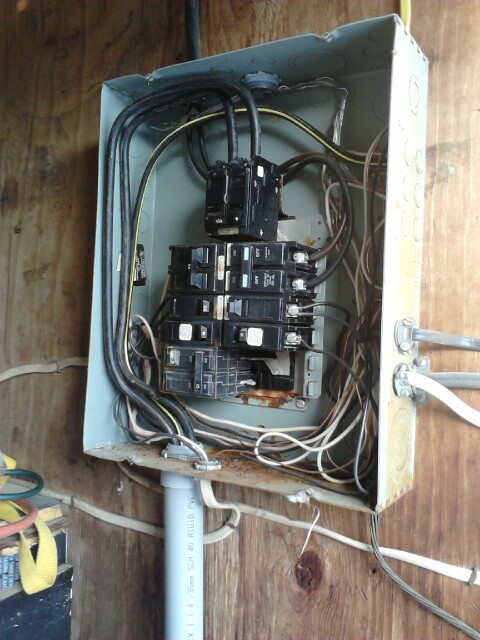 Old breaker box